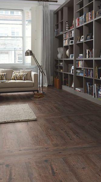 Karndean Lightline Ll4480 Grey Brown Rustic Wood Flooring Option