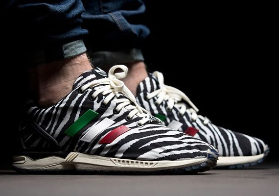 "hot sale online 2d6dd f7157 Italia Independent x adidas Originals ZX Flux ""Zebra"""