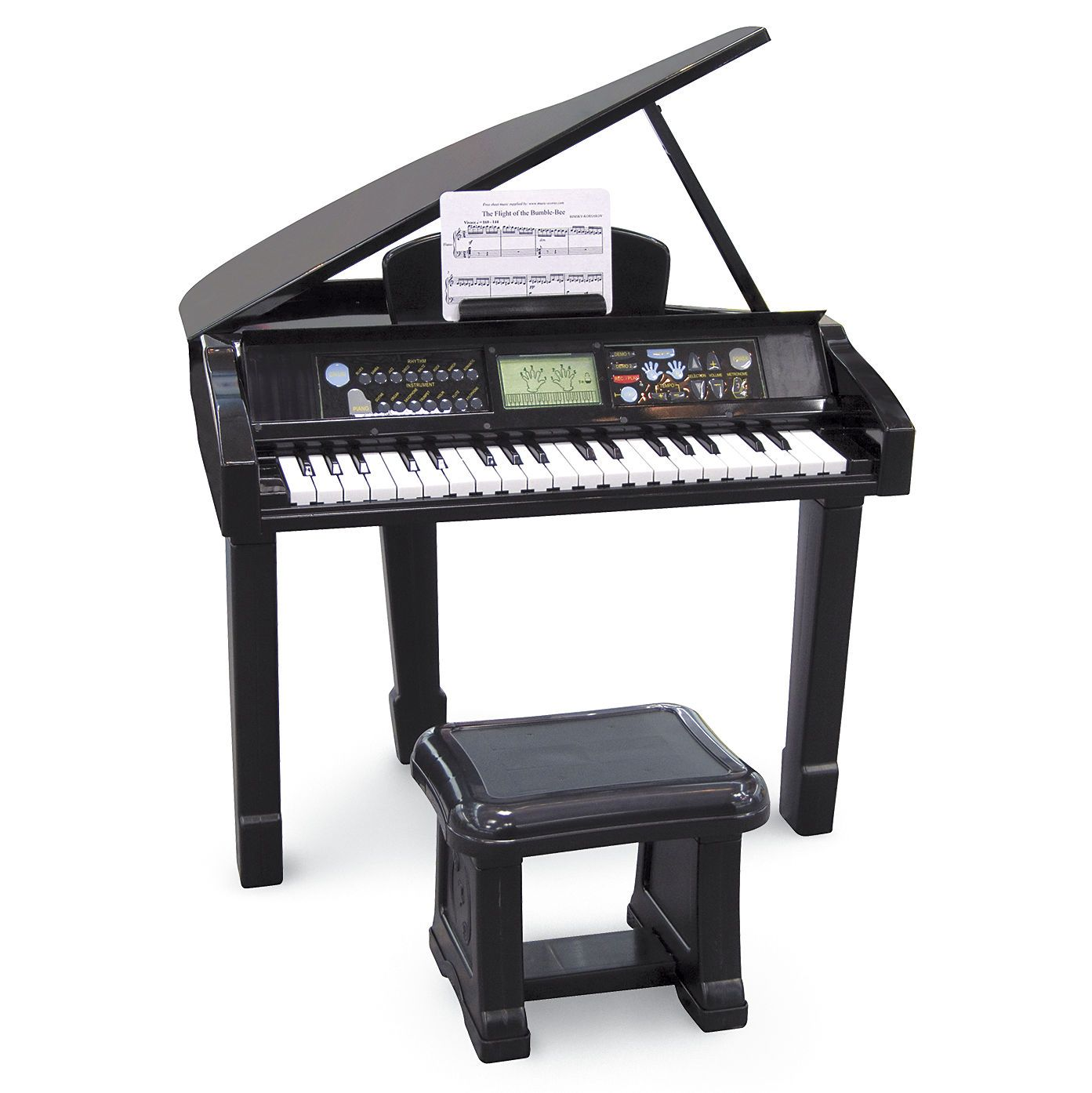 Deluxe Digital LearntoPlay Baby Grand Piano Young