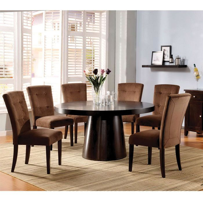7 Piece Round Dining Room Set | Few Piece Dining Room Set ...