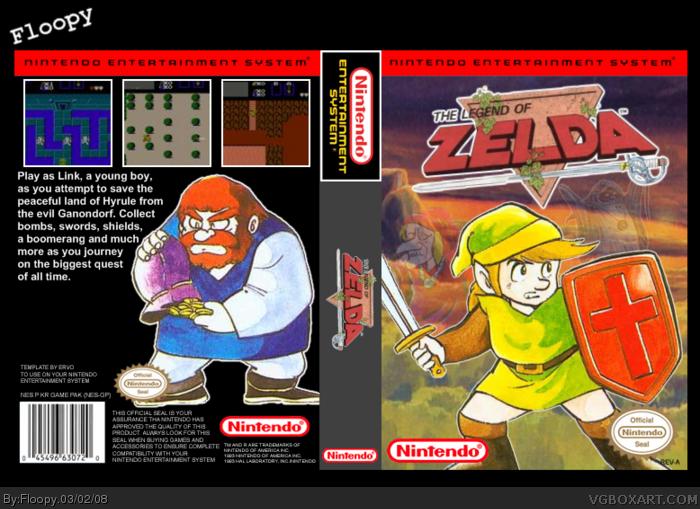 The Legend Of Zelda for Nintendo (NES) | Video Games