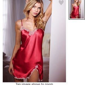 L Victoria S Secret Satin Slip