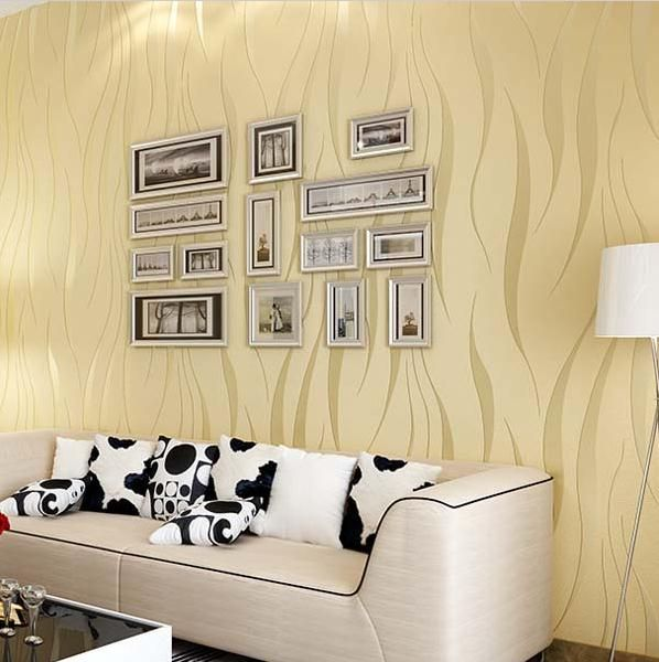 High Quality Modern 3D Wallpaper Damask Textured Wall Paper ...