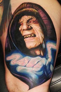 65 Star Wars Tattoos You Have To See To Believe #tattooforaweek #blog #starwars #tattoos #star #wars