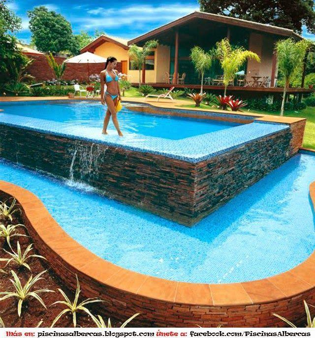 Resultado de imagen para piscinas fibra de vidrio costa - Juegos de decorar la casa de barbie con piscina ...