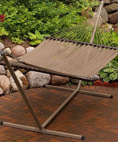 love this brown tight weave rope 13 u0027 hammock by algoma    pany on   love this brown tight weave rope 13 u0027 hammock by algoma    pany      rh   pinterest