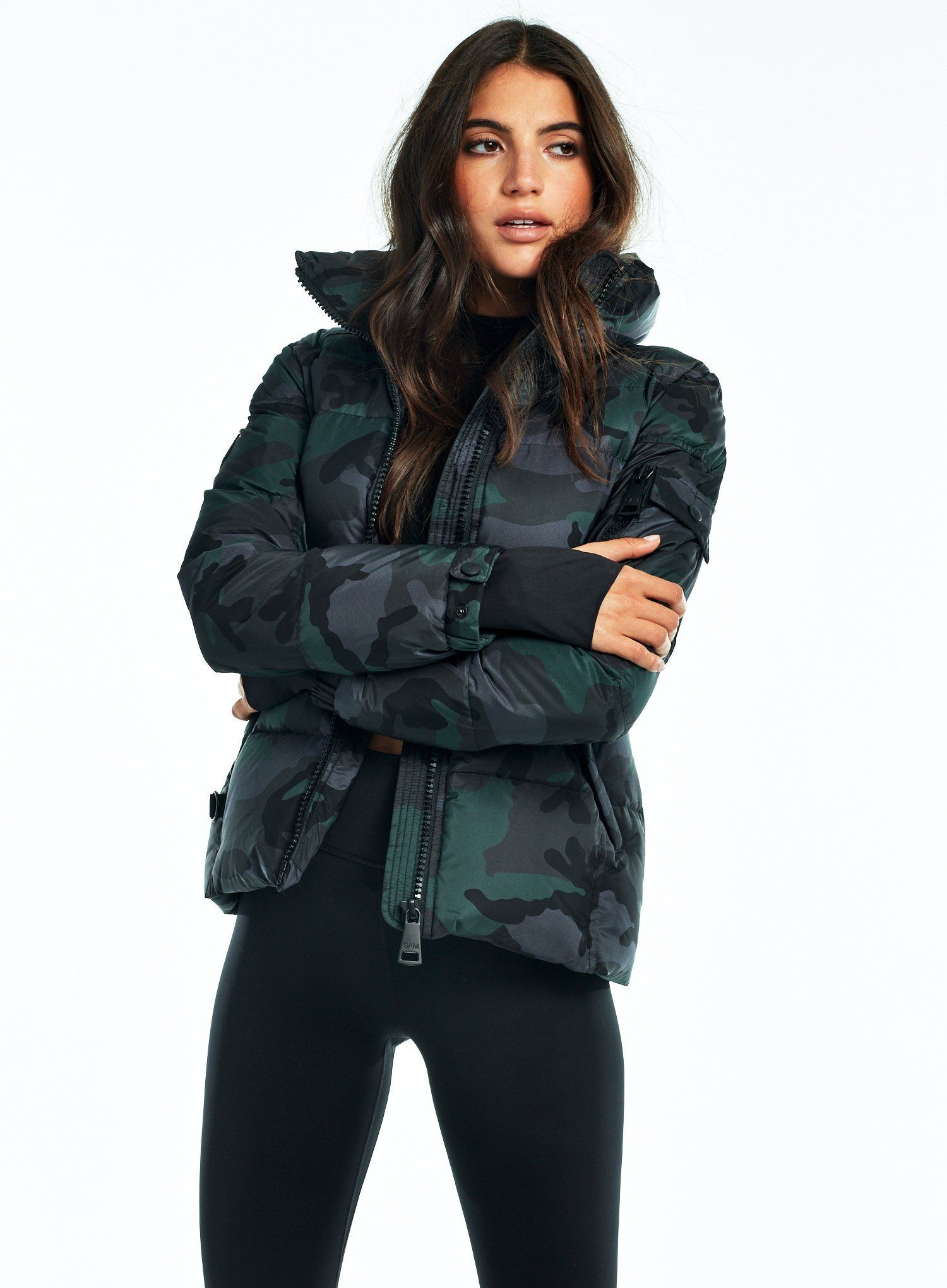 Camo Freestyle Sam Womens Camo Jackets For Women Outdoor Outfit [ 2041 x 1500 Pixel ]