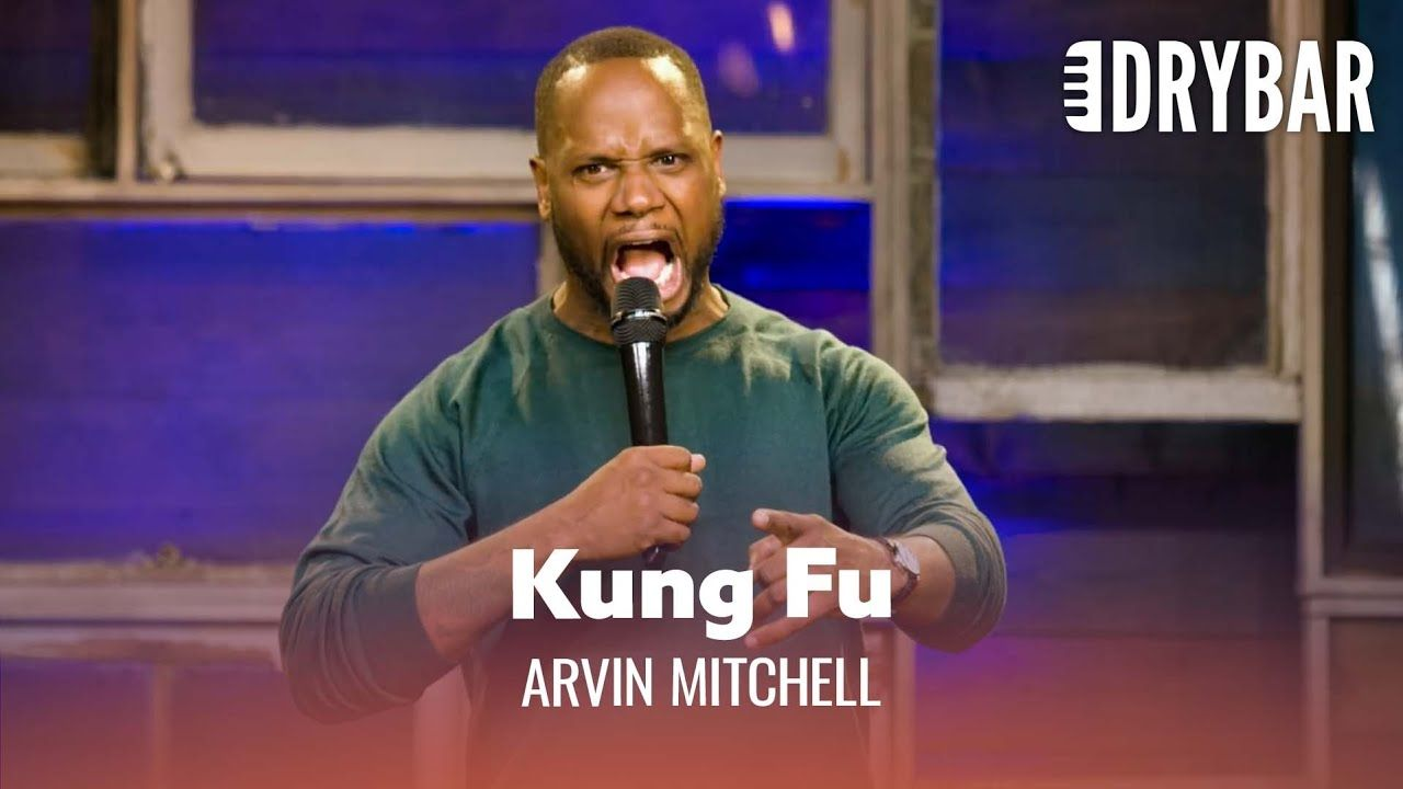 Best impression of a dubbed kung fu movie arvin mitchell