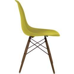 Eames Plastic Side Chair Stuhl Dsw mit Filzgleitern Vitra