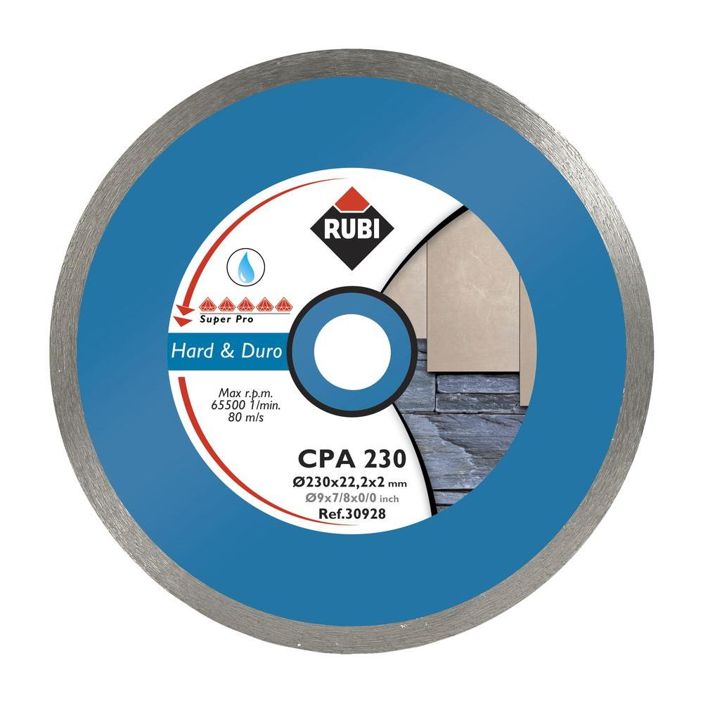 Rubi Cpa 10 In Superpro Stone Blade Blade Home Depot Rigid Foam Insulation