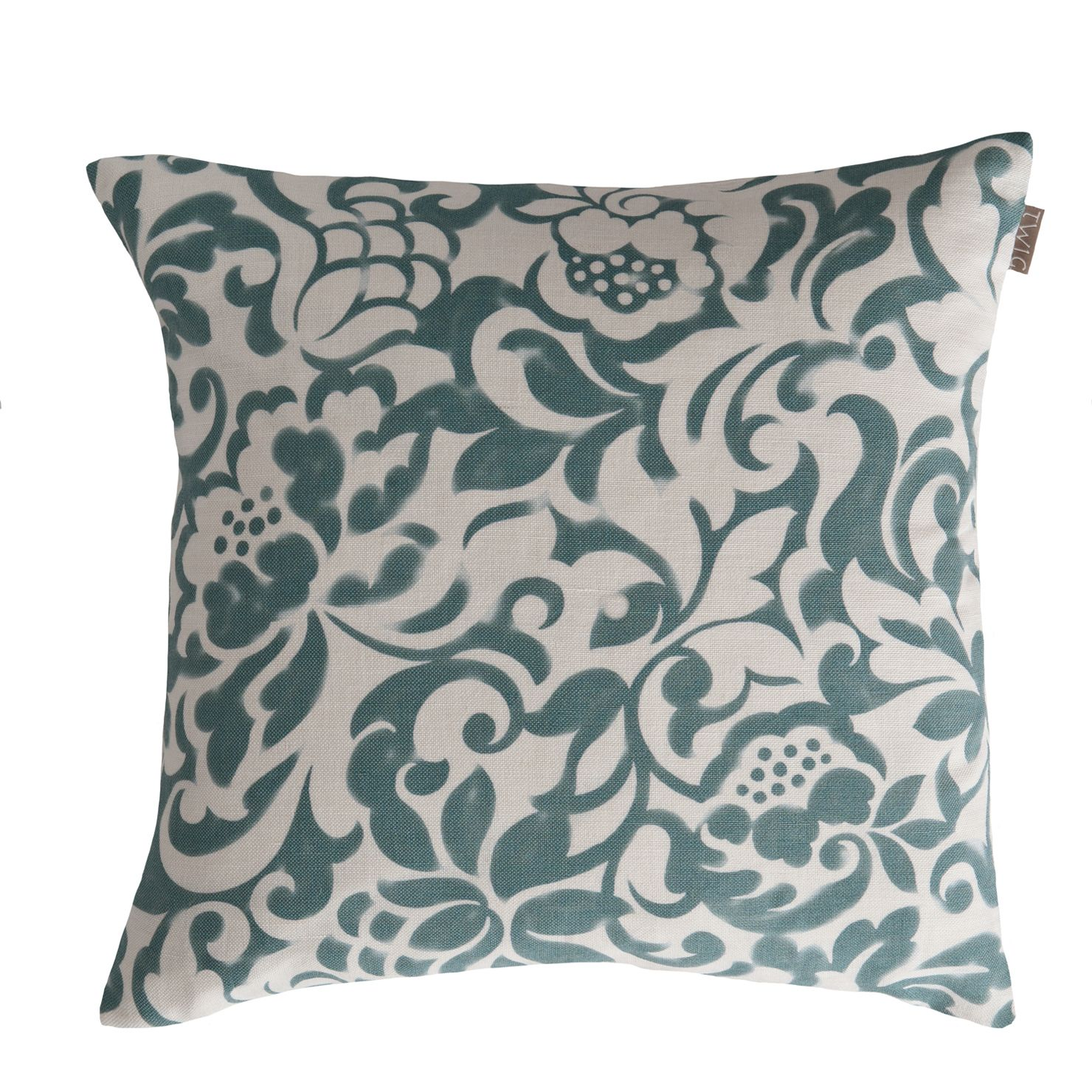 ACHICA Twig Ollie Teal Cushion Teal cushions, Duck egg