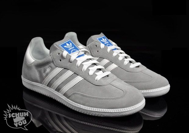 designer outlet gray sambas u6al  Yessssssss Adidas Samba Gray Suede