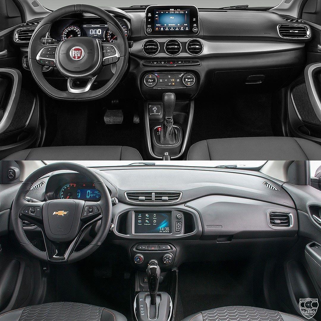 Fiat Argo X Chevrolet Onix Lancamento Da Fiat Quer Tomar O Lugar Do Carro Mais Vendido No Brasil Quem Vai Vencer Esse Embate Carro Gear Stick Cars Vehicles