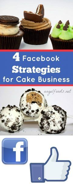 4 Facebook Strategies for Cake Business