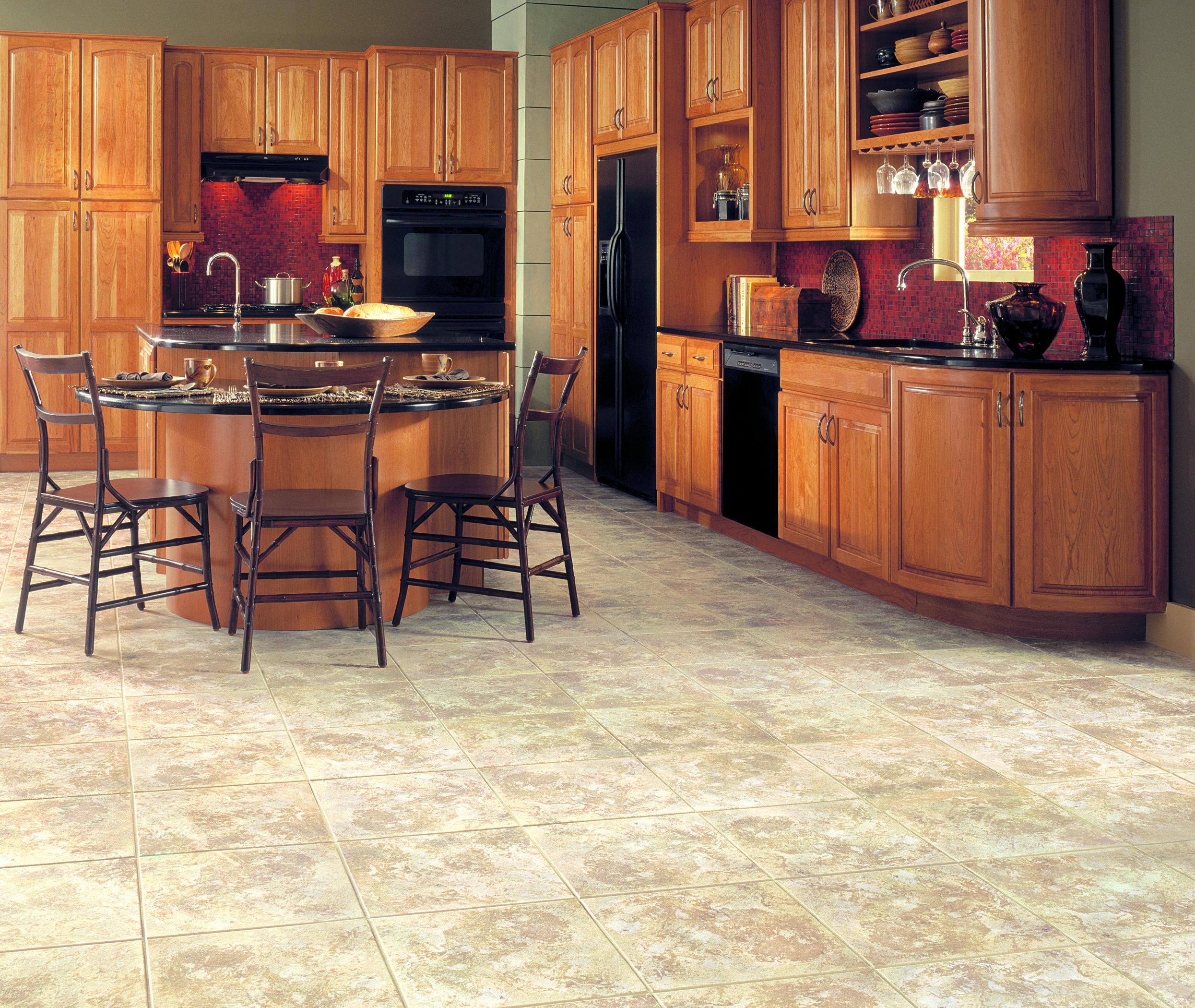 Sandalstone in Golden Stone Luxury vinyl tile, Vinyl