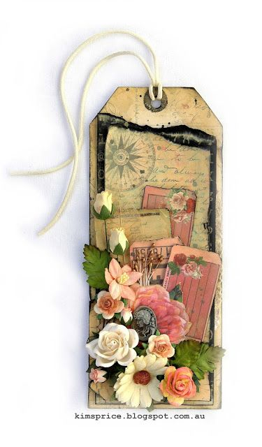 Beautiful Shabby Tag - Marion Smith Designs Printables