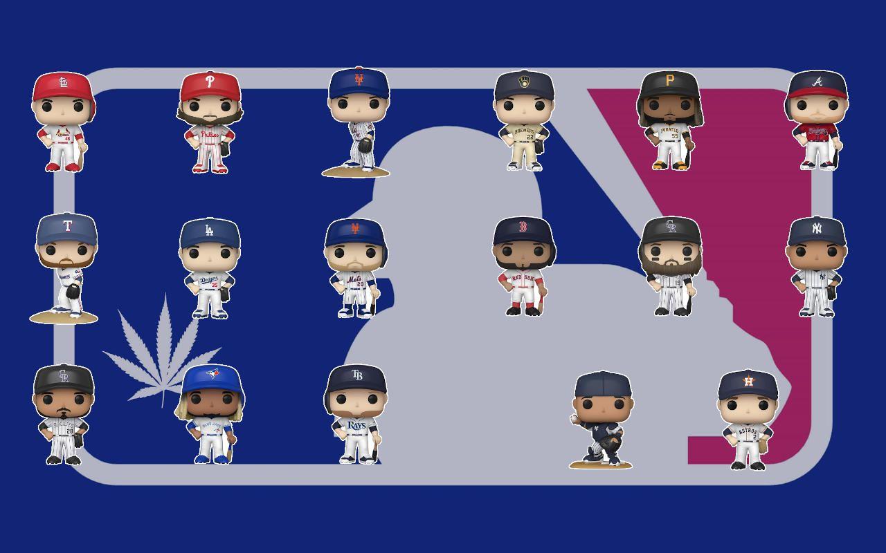 Mlb Llegan 17 Nuevas Figuras Pop Liga De Beisbol Mlb Beisbol