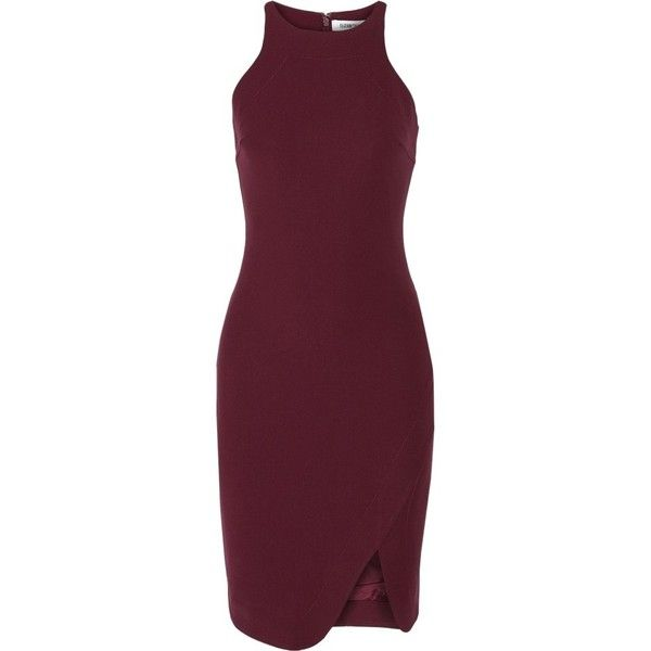 Elizabeth James Burgundy Oxblood Tail Dress 2 575 Ars Liked On Polyvore Featuring Dresses And Purple