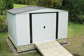 Building A Metal Shed Home Depot Canada Shed Storage Metal Shed Shed Homes