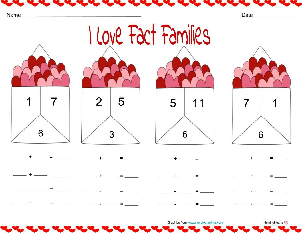 Valentine S Day Fact Families With Images