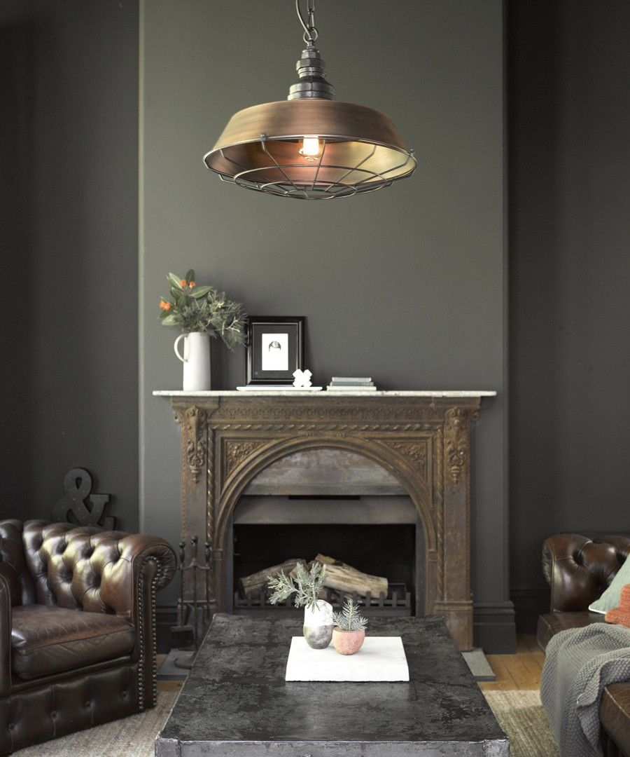 Love this fireplace. (With images) Small pendant lights