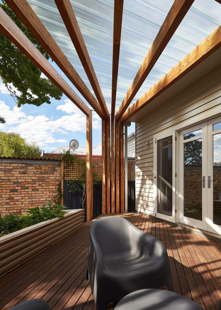 Gallery Of Kelvin House Fmd Architects 8 Pergola Terrasse Pergola Et Terrasse Bois
