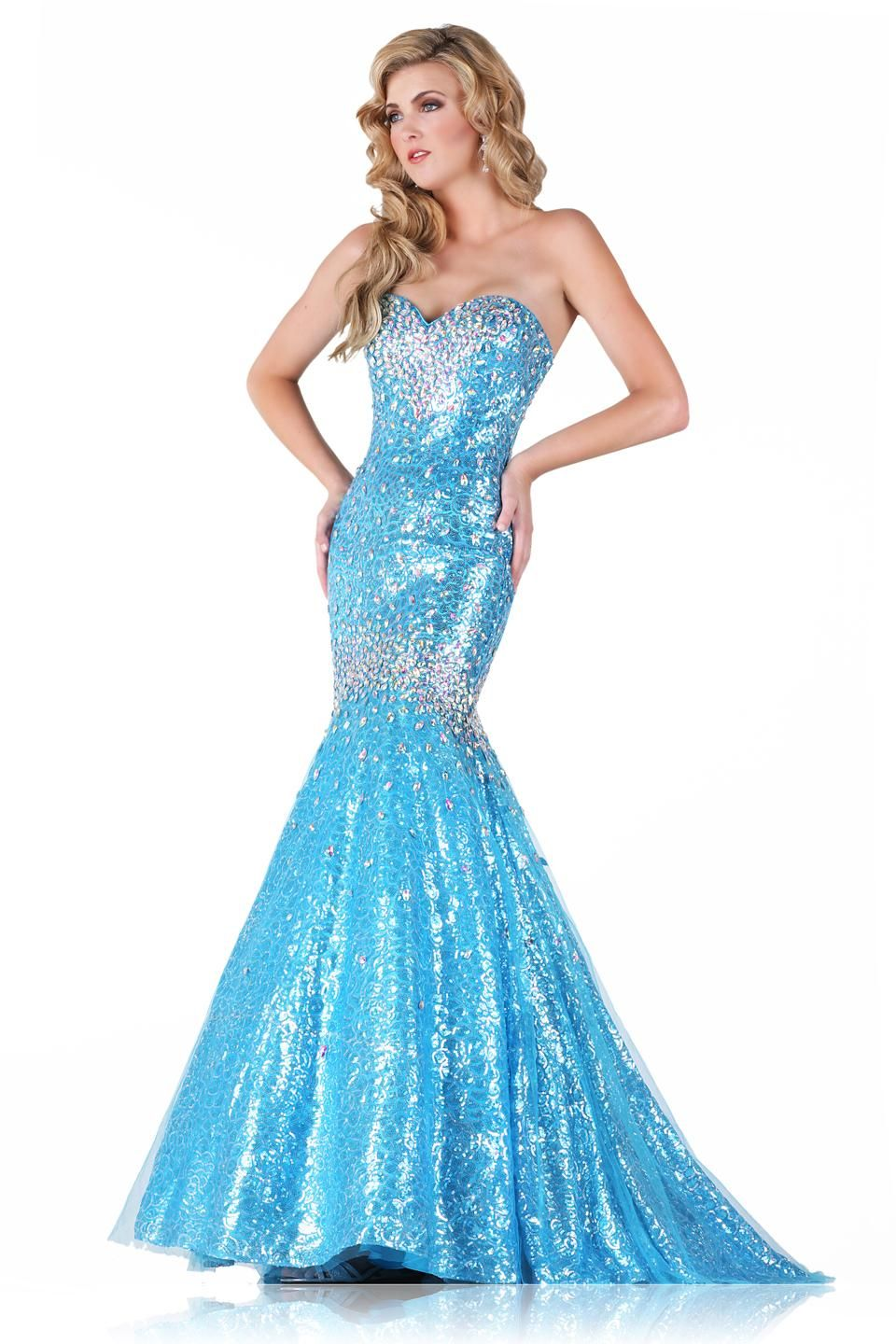 2016 Beautiful Prom Dresses Real Images sweetheart Neckline Crystals ...