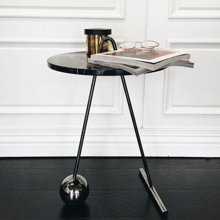 Satie Coffee Table / Gold #ST002C2M / 几何大理石金属茶几-淘宝网全球站