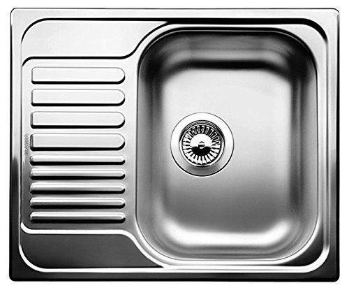 Blanco Tipo 45 S Mini Küchenspüle, Edelstahl Naturfinish,   - wasserhahn für küchenspüle