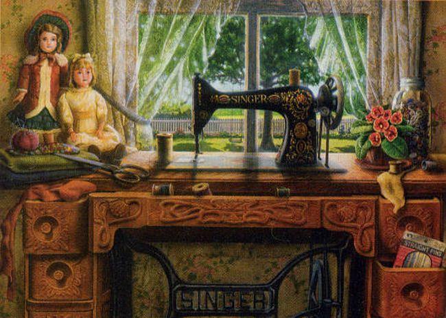 Sewingroom....