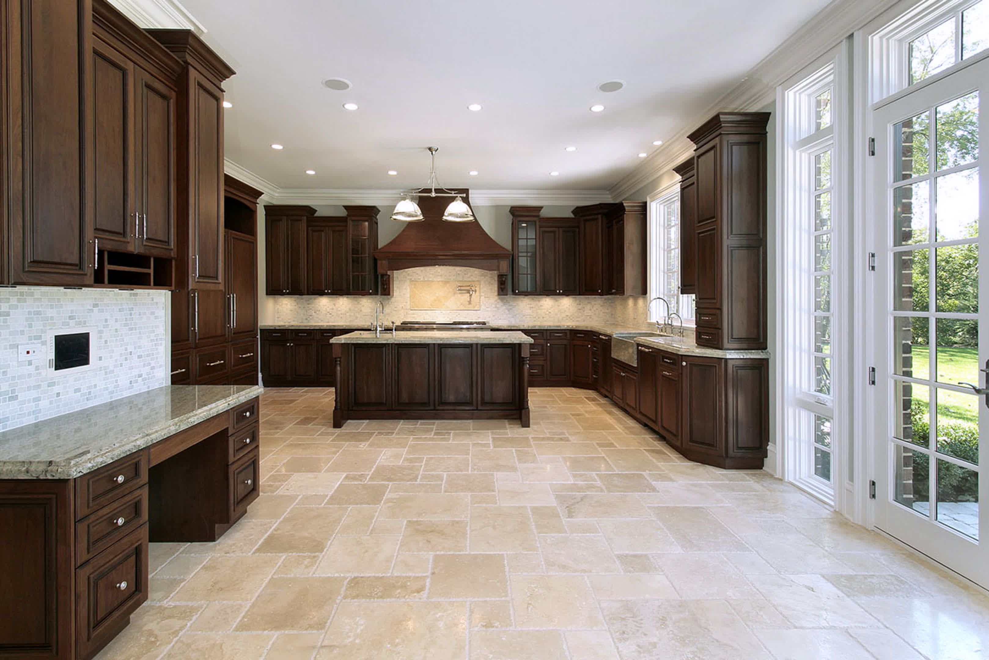 kitchen floor tiles ideas pictures Google
