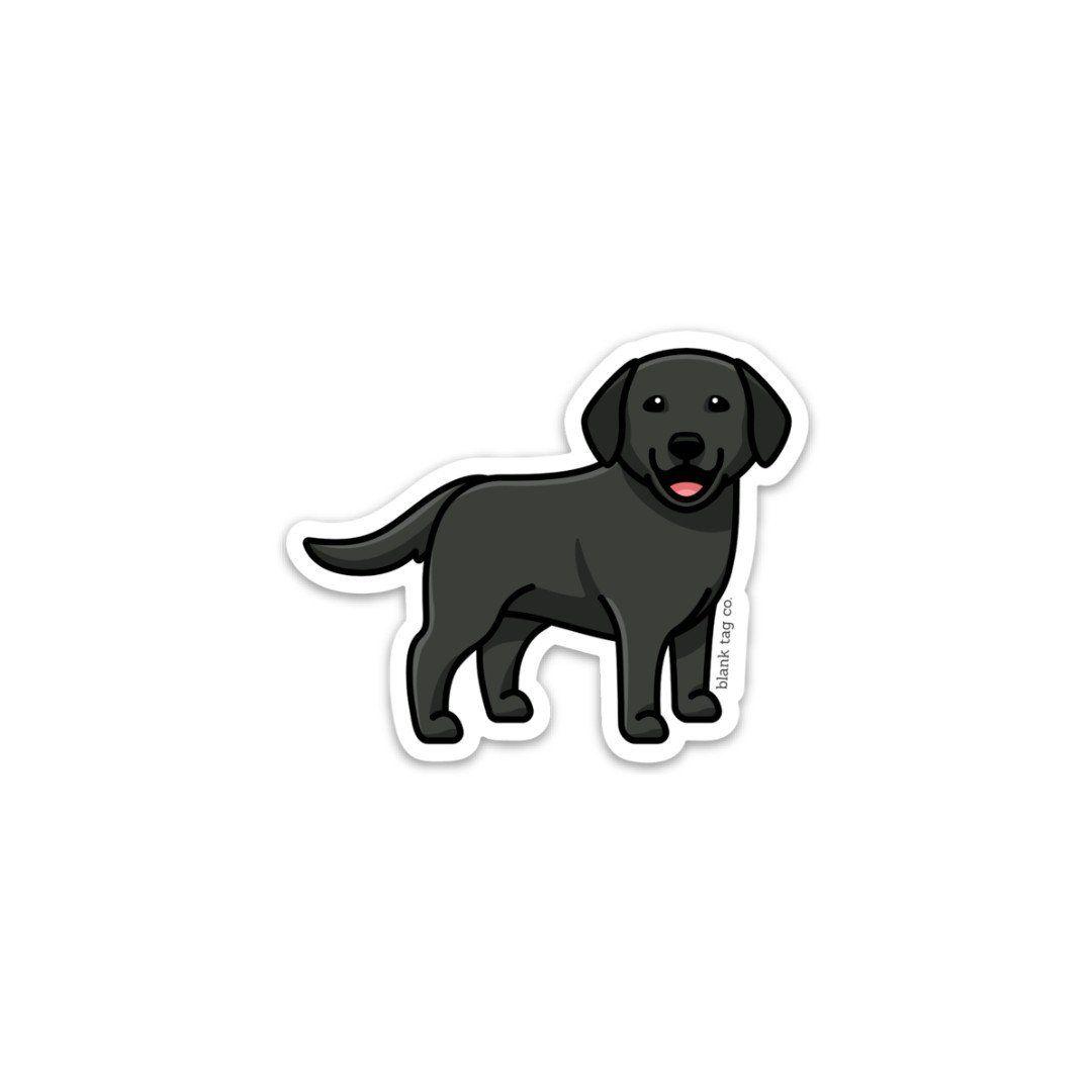 The Labrador Retriever Sticker