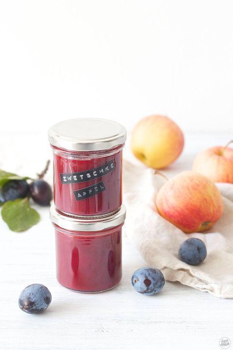 Zwetschken-Apfel-Marmelade - Sweets & Lifestyle