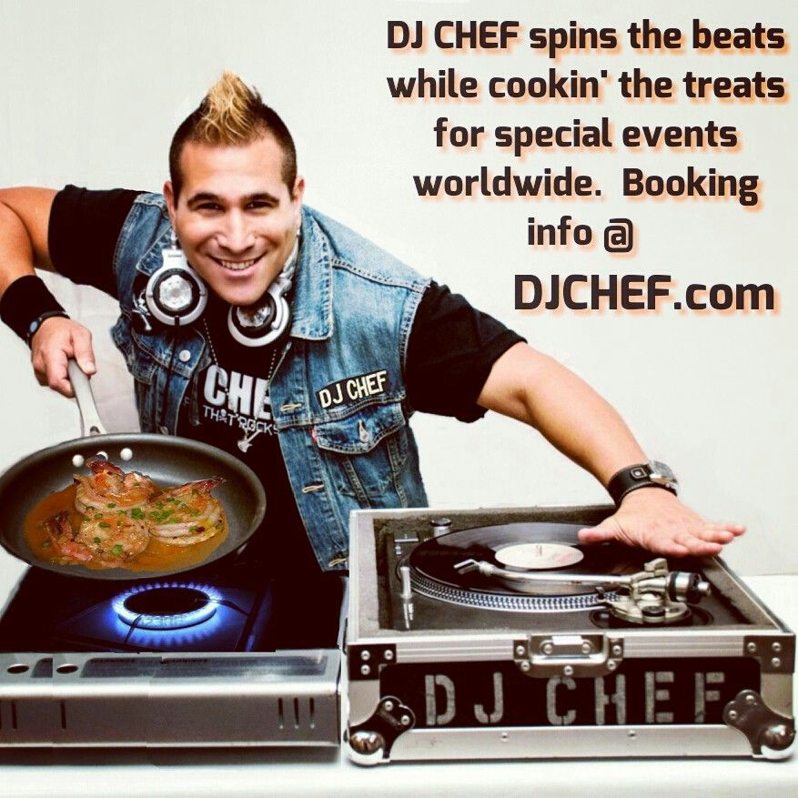 Dj Chef Cutthroat Kitchen Champion Events Party Ideas