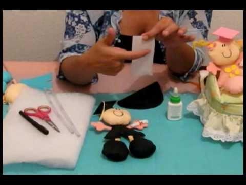 muñeco de crepe 1º parte                                                                                                                                                      Más