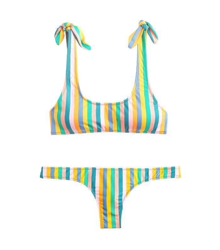 f3d08c5601aa7 18 Bikinis You Won t Feel Guilty Purchasing—We Promise via  WhoWhatWearAU