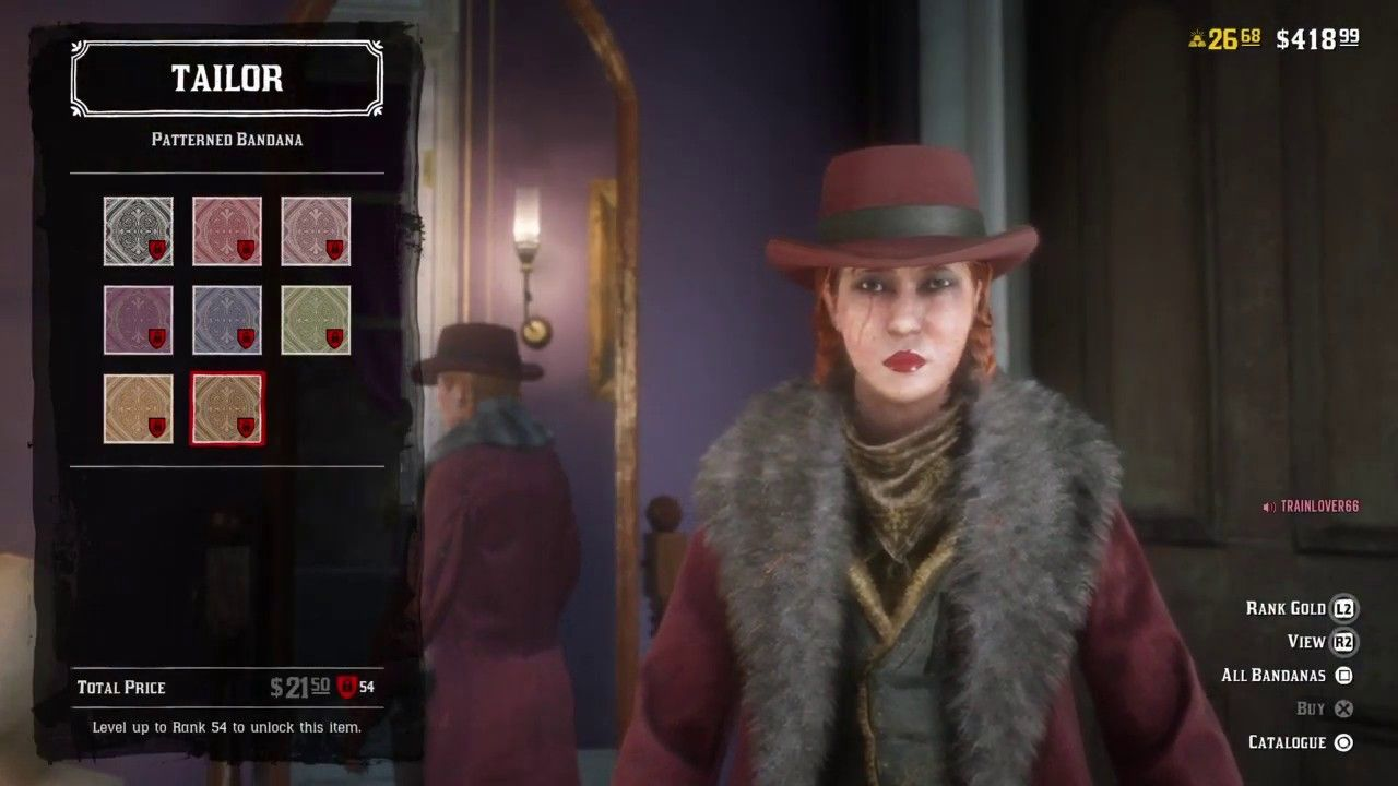 Red Dead Redemption 2 Online Glitch Get any Clothing At Any