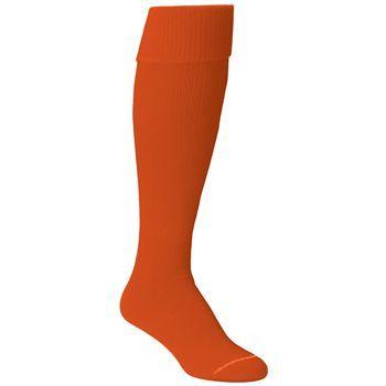 Orange Twin City® Intermediate Solid  Tube Socks