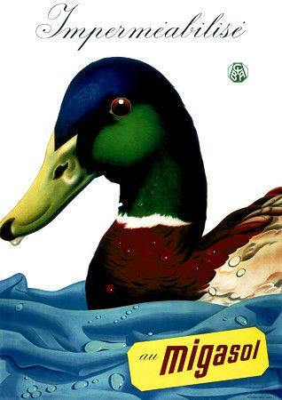 Migasol Waterproofing  1939  Artist: Kuhn