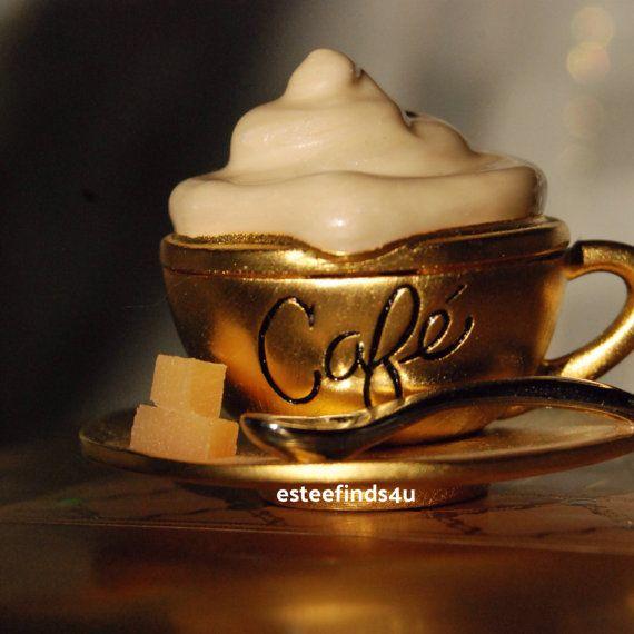 Estée Lauder CAFE solid perfume in original box   by ESTEEFINDS4U