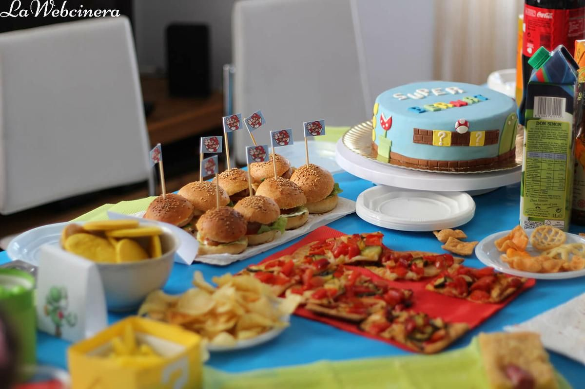 Mesa dulce y salada para cumplea os ideas para fiestas for Mesas dulces cumpleanos