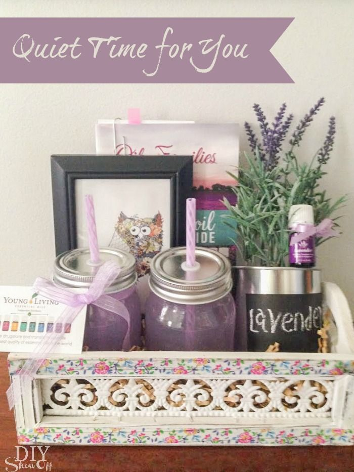 Essential Oil Gift Basket Ideas Blog Hop Mom Home And