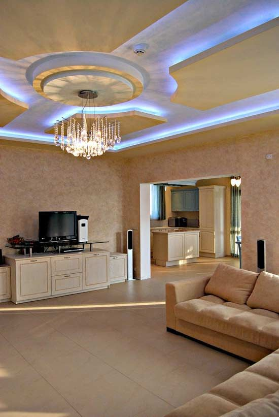suspended ceiling designs and ideas from gypsum board ...