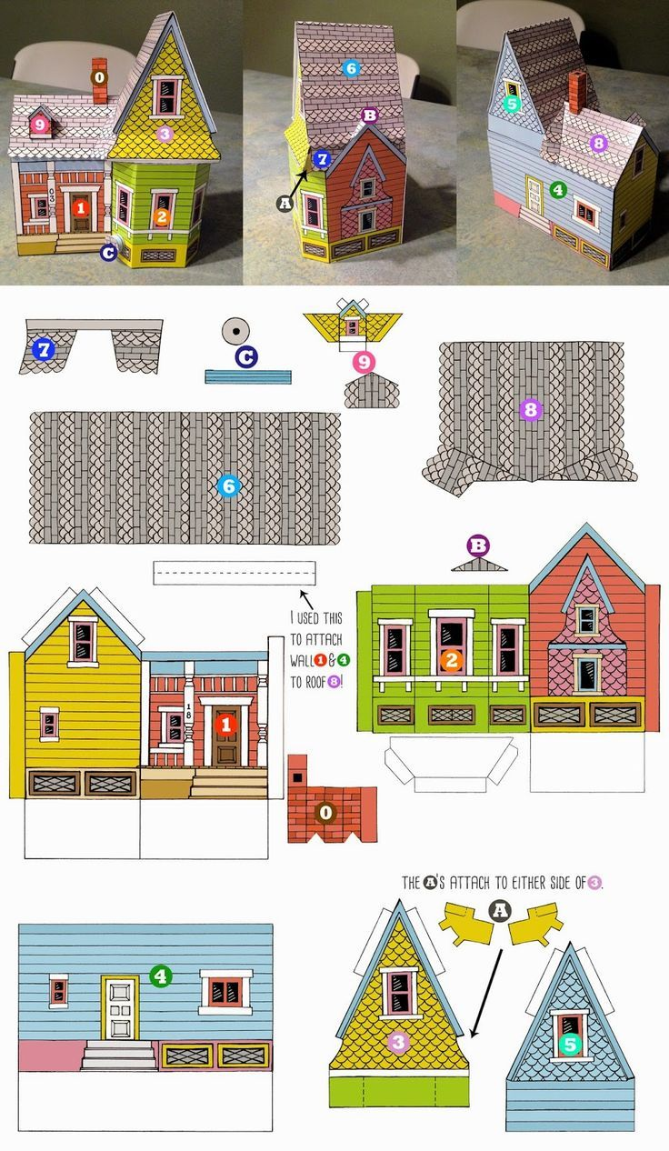 Peach Bum Up House Printable Template Preschool Pinterest