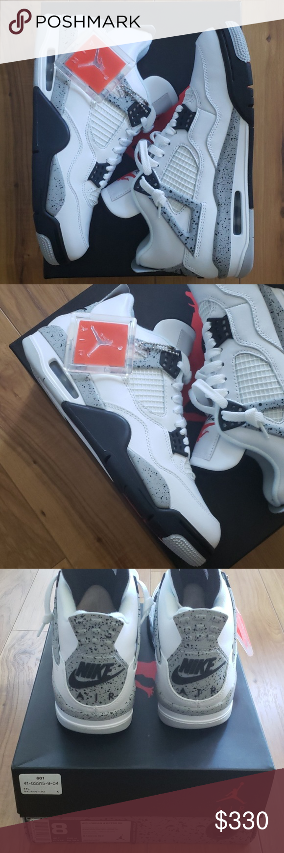 326152f4 Air Jordan 4 Retro OG Cement (2016) Air Jordan 4 Retro OG Cement ...