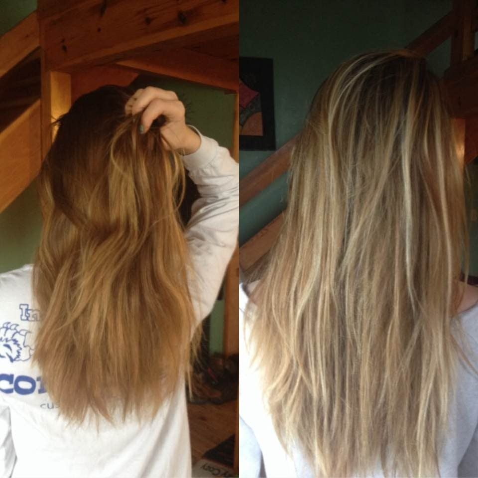 Light Brown Hair To Dirty Blonde Before And After Google Search