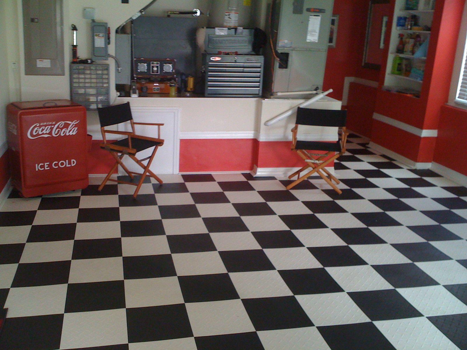 Black Garage Floor Tiles Made In Usa Free Shipping Diamond Plate Tile Floor Garage Floor Tiles Garage Floor