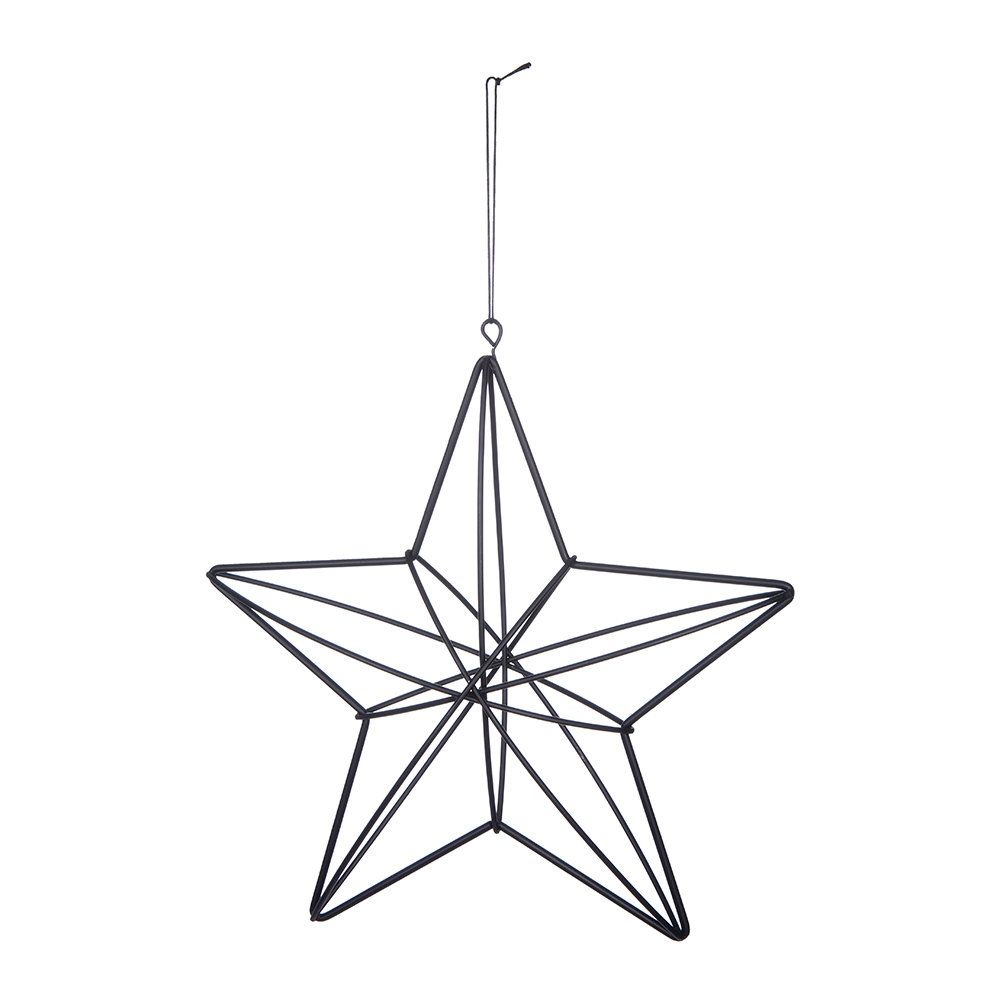 Make A Statement This Christmas With This 3d Hanging Star Ornament