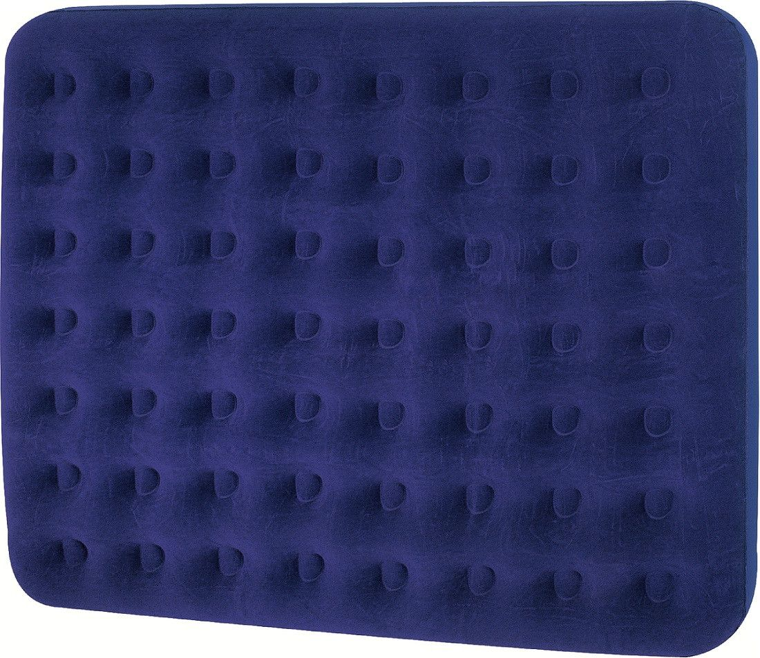75 Navy Blue Double Sized Indoor Outdoor Inflatable Air Mattress