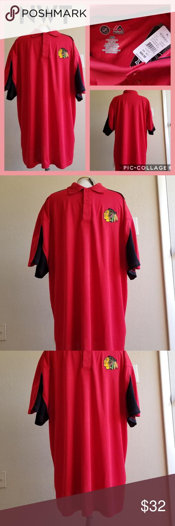 9d31079bf 2XL NHL Chicago Blackhawks logo shirt Big & Tall New with tags! Tag  price